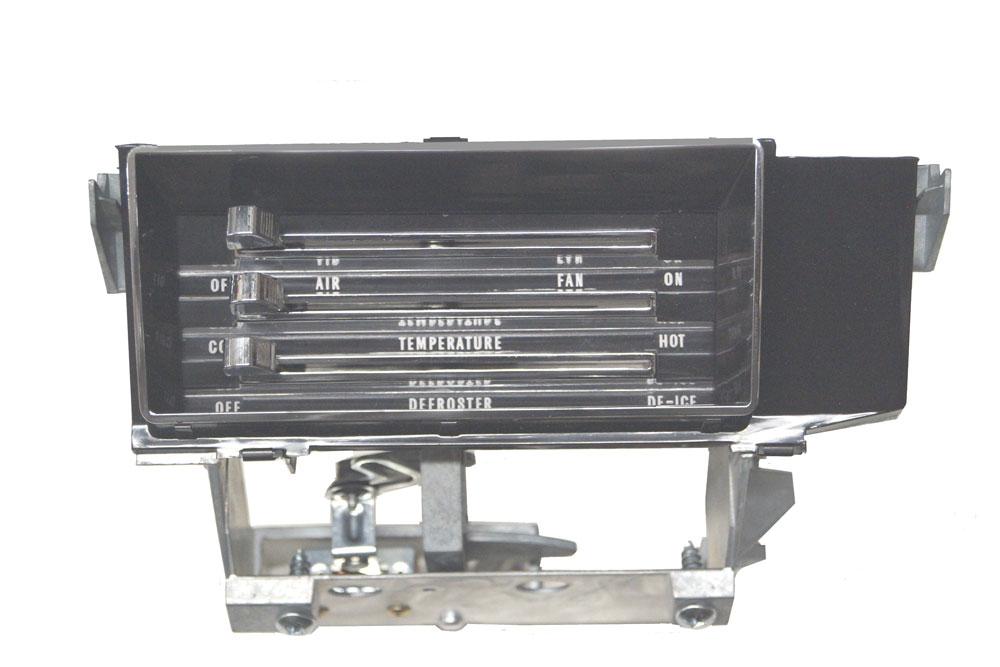 Control  66-67 Chevelle And El Camino Heater No Ac
