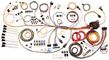 harness kits, 64-67 pontiac gto american autowire classic update