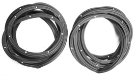 WEATHERSTRIP,  62-67 NOVA 4 DOOR REAR DOOR-PR