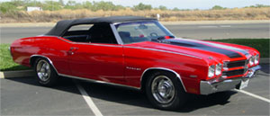 TOP, 68 CHEVELLE CONVERTIBLE W/PLASTIC WINDOW