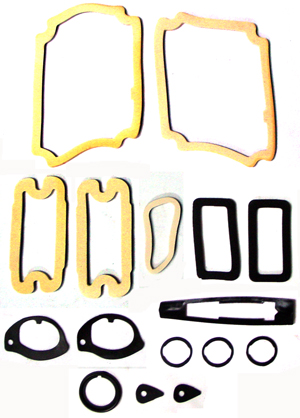 PAINT SEAL KIT, 68 EL CAMINO