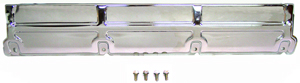 PLATE, 68-77 CHEVELLE AND EL CAMINO BIG BLOCK UPPER RADIATOR SUPPORT - CHROME