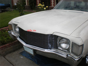 GRILL, 72 CHEVELLE BILLET GRILL