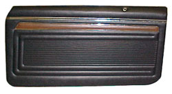 DOOR PANELS, 70-72 NOVA CUSTOM PREASSEMBLED