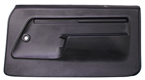 DOOR PANELS, 73-74 NOVA PREASSEMBLED - CHARCOAL ONLY - PAIR