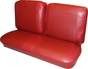 SEAT COVER, 66 NOVA FRONT BENCH