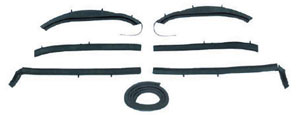 WEATHERSTRIP, 62-63 NOVA CONVERTIBLE TOP