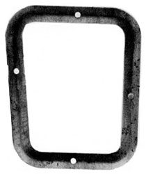 PLATE, 68-74 NOVA SHIFT BOOT WITH CONSOLE