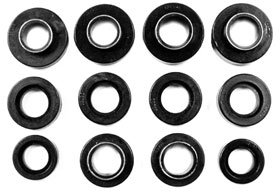 BUSHING, 68-74 NOVA  BODY MOUNT KIT - POLYURETHANE