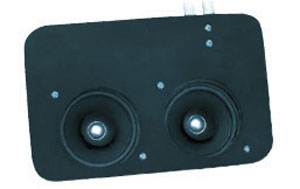 SPEAKER, 67-72 TRUCK DASH KENWOOD 40 WATT WITH AIR CONDITIONING