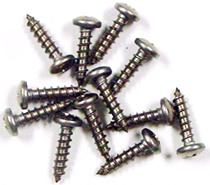 SCREWS, TRUCK DOOR SILL PLATE SET