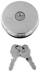 GAS CAP, 47-72 TRUCK LOCKING