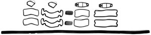 PAINT SEAL KIT, 71-72 FLEETSIDE