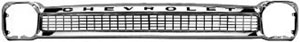 GRILL, 64-66 TRUCK CHROME