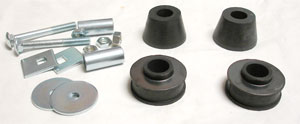 BUSHINGS, 67-72 TRUCK RADIATOR SUPPORT KIT