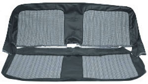 SEAT COVER, 71-72 CHEYENNE SUPER HOUNDSTOOTH BENCH