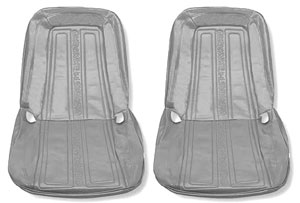 SEAT COVER, 69-70 TRUCK FRONT BUCKETS - PAIR