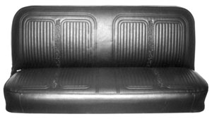 SEAT COVER, 69-70 TRUCK FRONT BENCH
