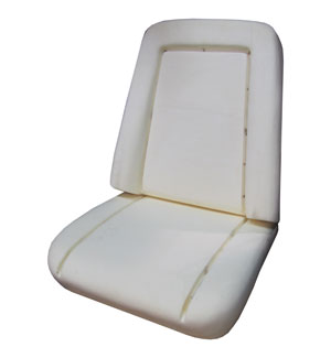 SEAT FOAM, 69-70 TRUCK BUCKET (FOR ONE BUCKET SEAT)