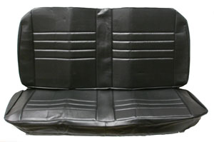 SEAT COVERS,  65 CHEVELLE REAR