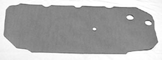 WATERSHIELDS, 64-72 CHEVELLE DOOR PANEL