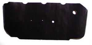 WATERSHIELDS, 64-72 EL CAMINO DOOR PANEL