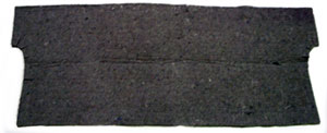 JUTE PADDING, 64-65 CHEVELLE TRUNK DIVIDER