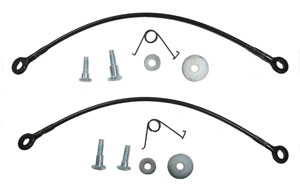 TAILGATE CABLE KIT, 68-77 EL CAMINO
