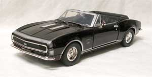 DIECAST, 67 SS RS CAMARO CONVERTIBLE 1/24 SCALE