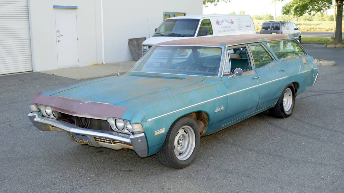 Cars For Sale 1968 Impala Bel Air Wagon Super Muscle
