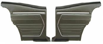 REAR PANELS, 69 CAMARO STANDARD COUPE PREASSEMBLED - PR