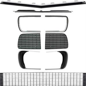 GRILL KIT, 67-68 CAMARO RS