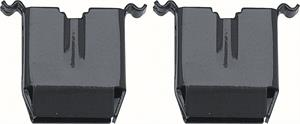 CLIPS, 68 CAMARO DASH PAD (PAIR)