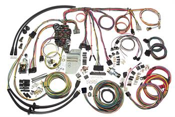 HARNESS KITS, 57 CHEVY PASSENGER WAGON NOMAD AMERICAN AUTOWIRE CLASSIC UPDATE