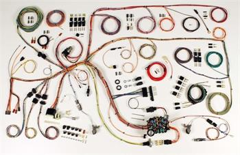 HARNESS KITS, 60-64 FORD FALCON 60-65 MERCURY COMET CLASSIC UPDATE