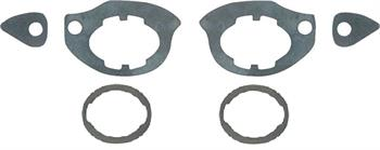 GASKET, 67-69 DOOR HANDLE AND LOCK SET
