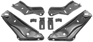BRACKET, 70 CHEVELLE FRONT BUMPER - SET