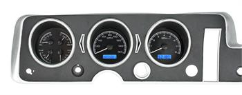 GAUGES, 68 GTO LEMANS TEMPEST DAKOTA DIGITAL VHX (DOES NOT INCLUDE BEZEL)