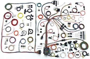 HARNESS KITS, 68-72 PONTIAC GTO AMERICAN AUTOWIRE CLASSIC UPDATE