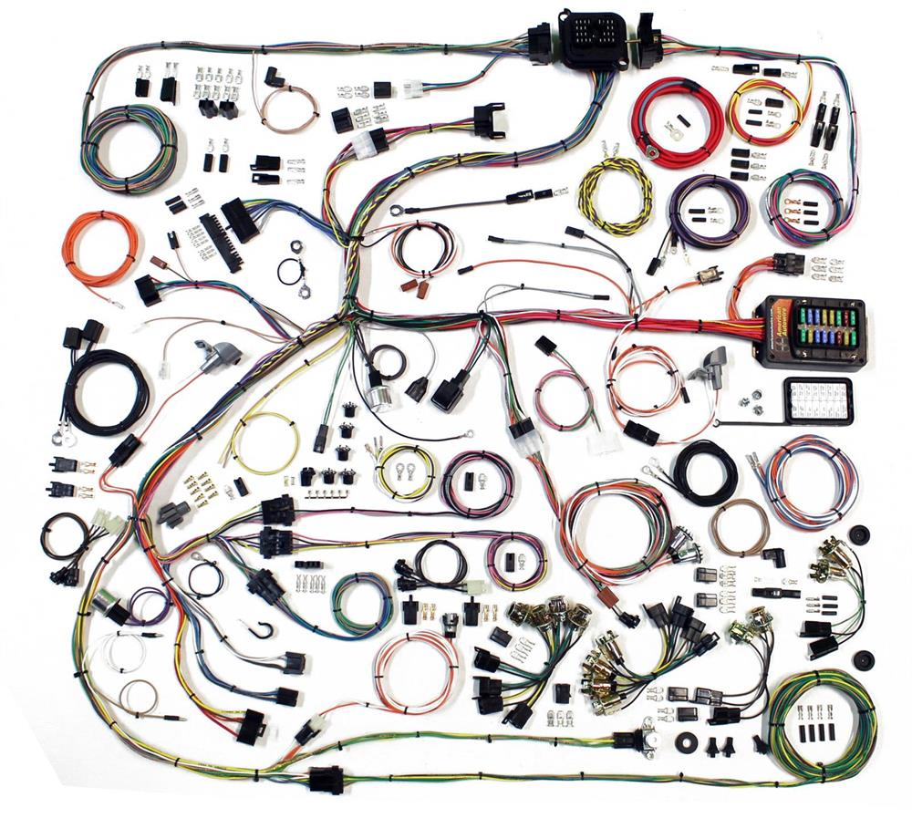 American Autowire 1968 70 Mopar B Body Classic Update Wire Harness Hei Wiring In Gm Kit 68