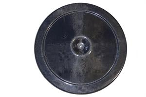 "AIR CLEANER LID, 14"" CARBON FIBER OPEN ELEMENT"