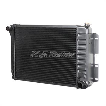 RADIATOR, 67-69 CAMARO V8 BB 302 Z28 WITH AC -  23