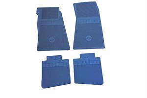 FLOOR MATS, 67-81 CAMARO BOWTIE 4 PIECE SET
