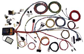 HARNESS KITS, AMERICAN AUTOWIRE BUILDER 19 SERIES