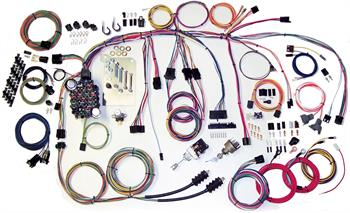 HARNESS KITS, 60-66 CHEVY PICKUP TRUCK AMERICAN AUTOWIRE CLASSIC UPDATE