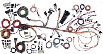 HARNESS KITS, 64-67 CHEVELLE EL CAMINO AMERICAN AUTOWIRE CLASSIC UPDATE