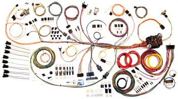 HARNESS KITS, 64-67 PONTIAC GTO AMERICAN AUTOWIRE CLASSIC UPDATE