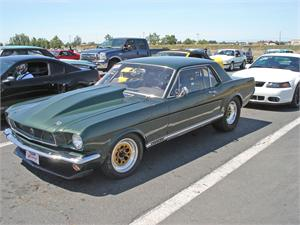 1965 Ford Mustang Coupe Race Car