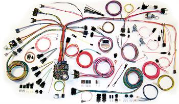 HARNESS KITS, 67-68 CAMARO AMERICAN AUTOWIRE CLASSIC UPDATE