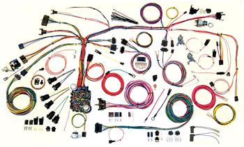 HARNESS KITS, 67-68 PONTIAC FIREBIRD AMERICAN AUTOWIRE CLASSIC UPDATE